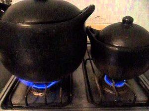 Cocinando en Ollas de Barro